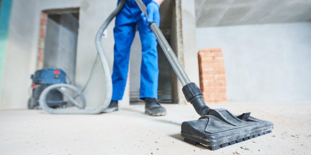 Valymas po statybų, remonto darbų