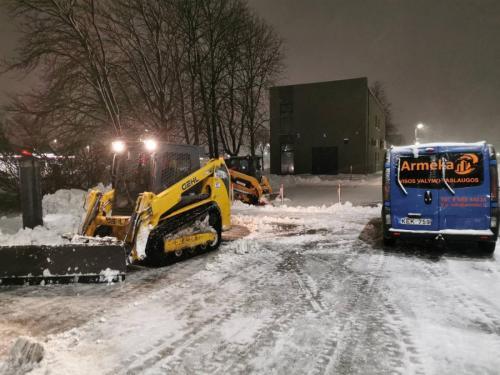 Sniego kasimas
